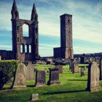 St. Andrews, PlanMyTravels.eu, ruiny katedry St. Adrews