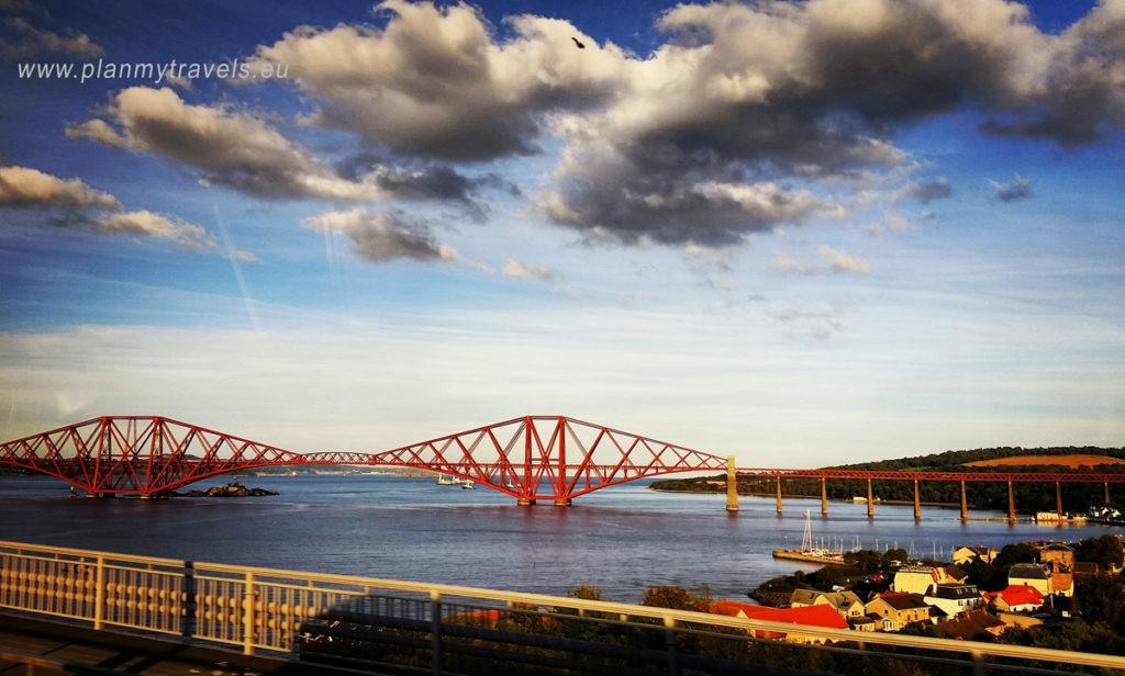 Edynburg i St. Andrews, PlanMyTravels.eu, most Forth Bridge