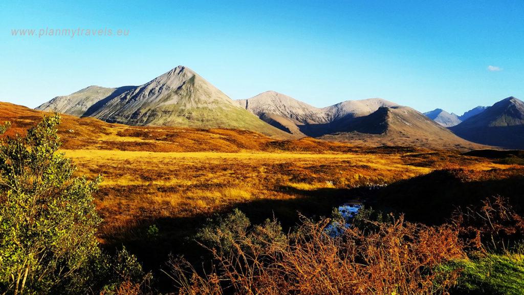 Szkocja, Isle of Skye, PlanMyTravels.eu, Dolina Glencoe