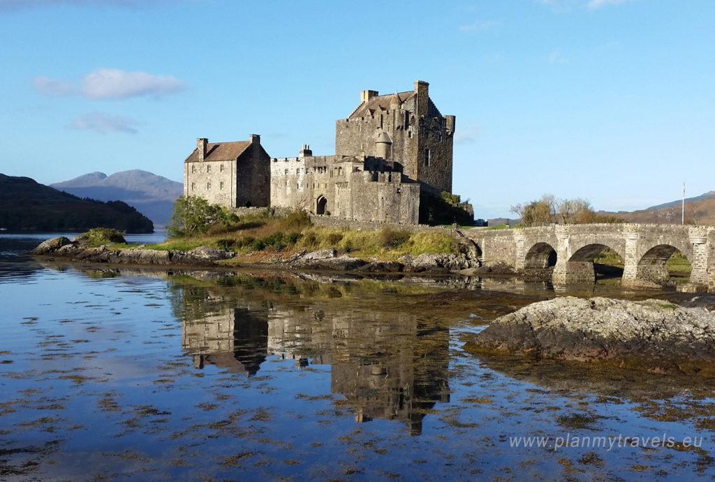 Szkocja, Isle of Skye, PlanMyTravels.eu, Eilean Donan Castle