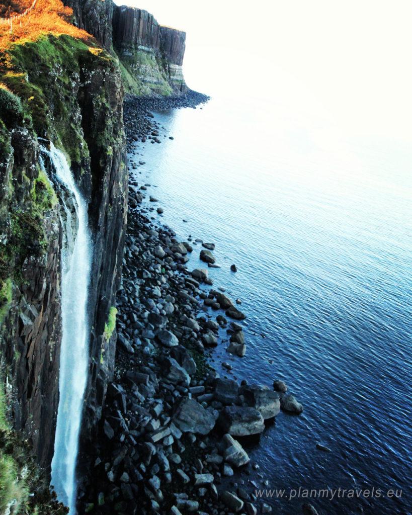 Szkocja, Isle of Skye, PlanMyTravels.eu, wodospad Mealt