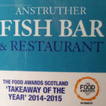 Scotland, Fish& Chips, Anstruther, 9 km from St. Andrews