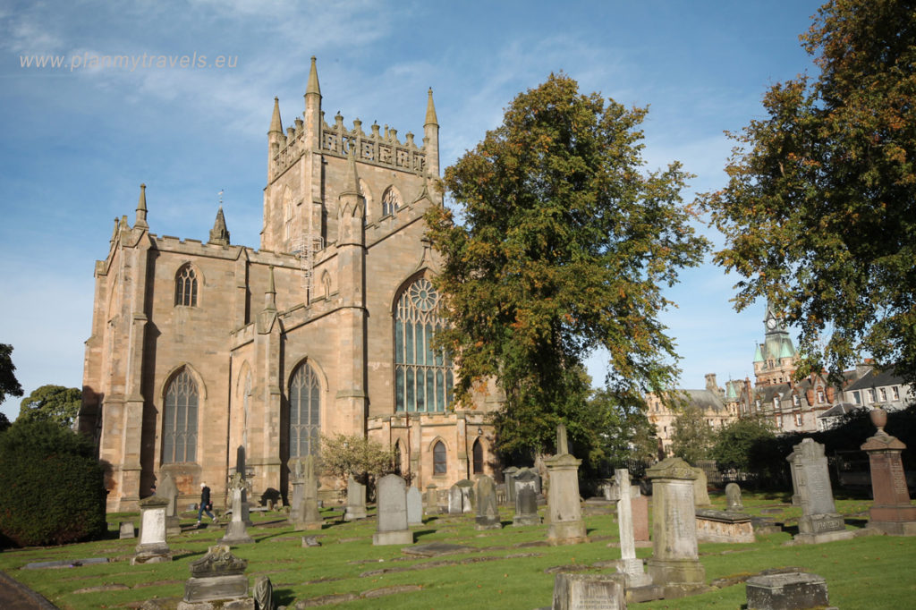 St. Andrews, PlanMyTravels.eu, opactwo Dunfermline