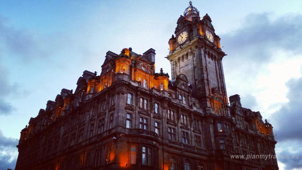Scotland, Edinburgh, PlanMyTravels.eu,Balmoral hotel