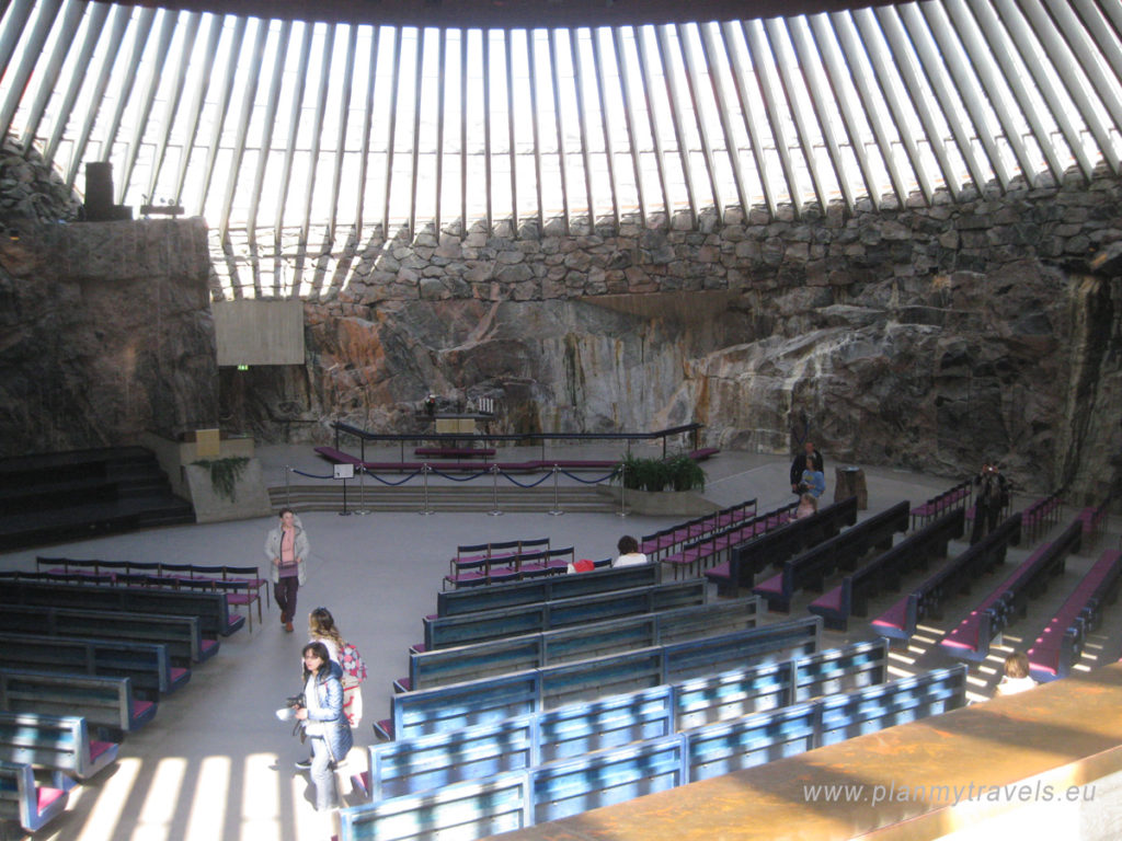 Finland, Helsinki, Finland - land of saunas, raw herring, nature and reindeers, PlanMyTravels.eu,The Church in the Rock - Temppeliaukio