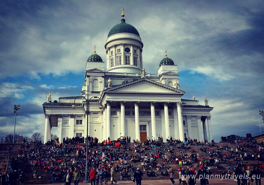 Finlandia, Helsinki, Katedra luterańska Tuomiokirkko