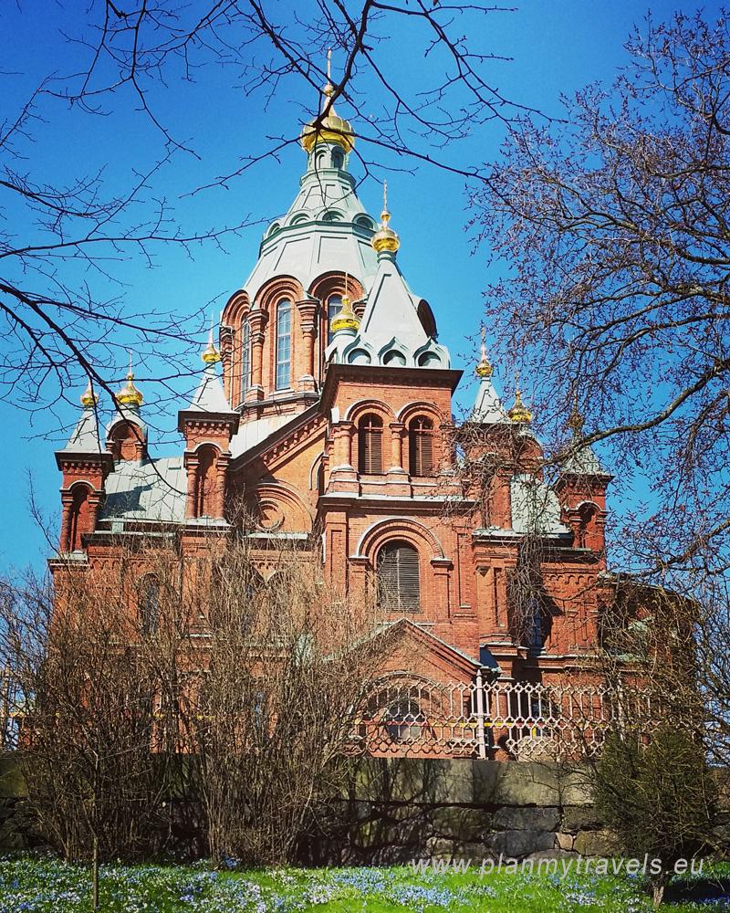 Finlandia, Helsinki, Sobór Uspienski, cerkiew