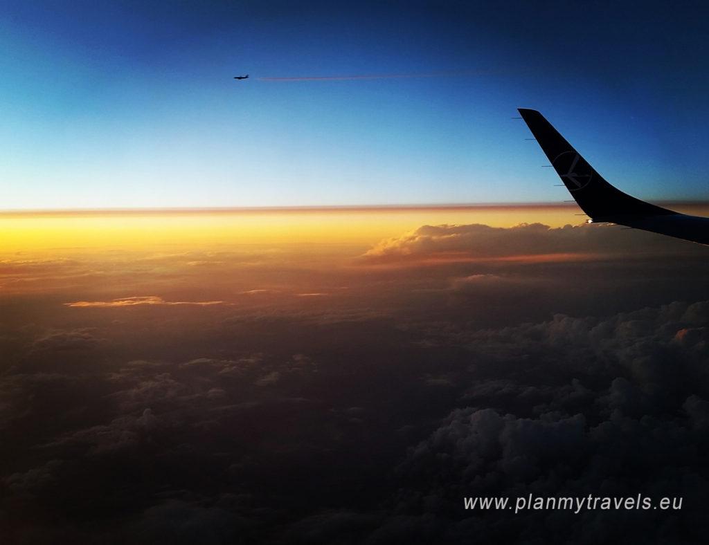 Opóźnienia w podróży samolotem