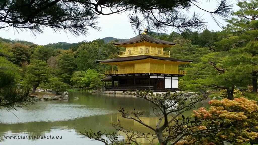Japonia, Kyoto - Golden Pavilion