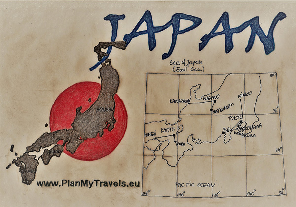 Japan - tailor-made Travel plan, trip tp Japan, PlanMyTravels.eu