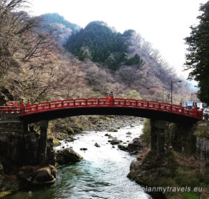 Japonia, Nikko Shinkyo Bridge