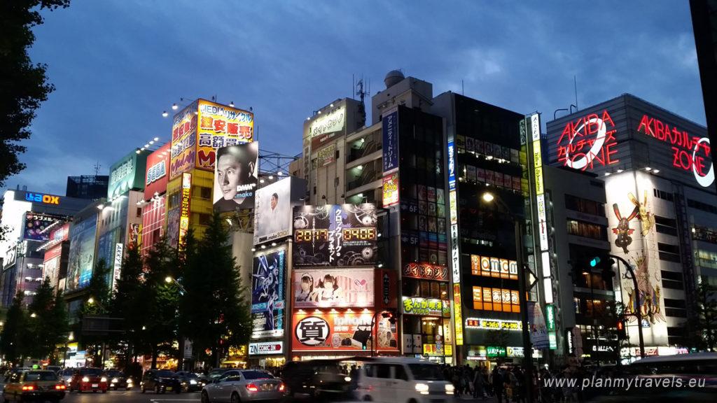 Japan - tailor-made Travel plan, trip tp Japan, PlanMyTravels.eu, Tokyo Akihabara