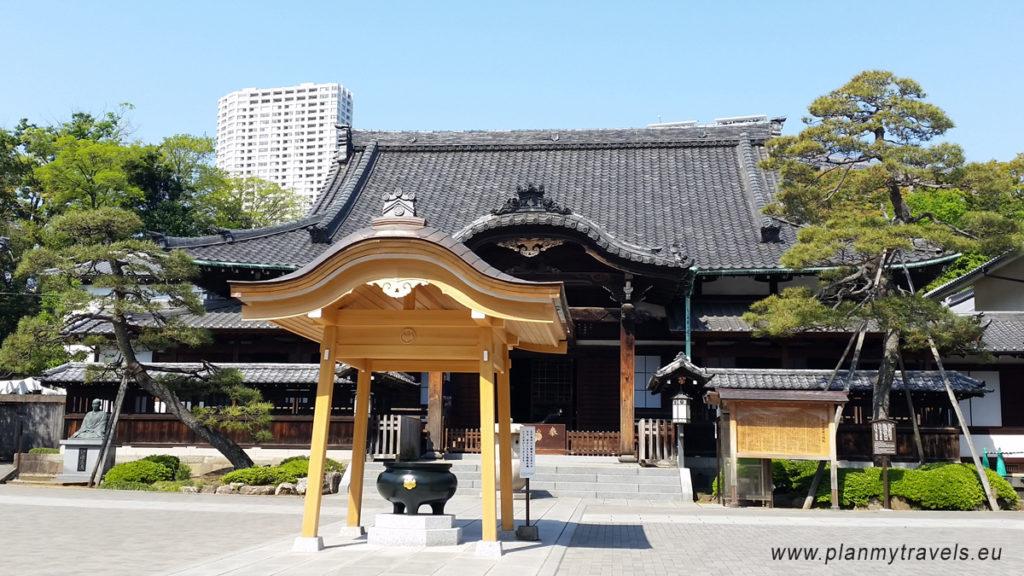 Japonia, Tokyo Sengakuji Temple