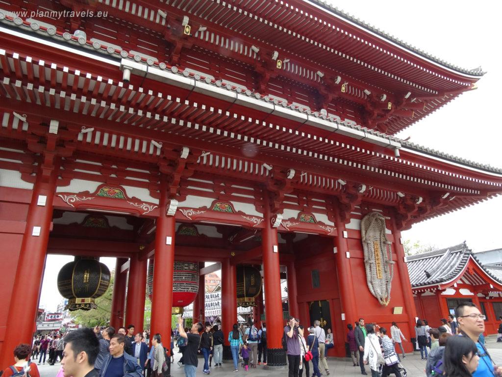 Japonia, Tokio, Sensoji Temple