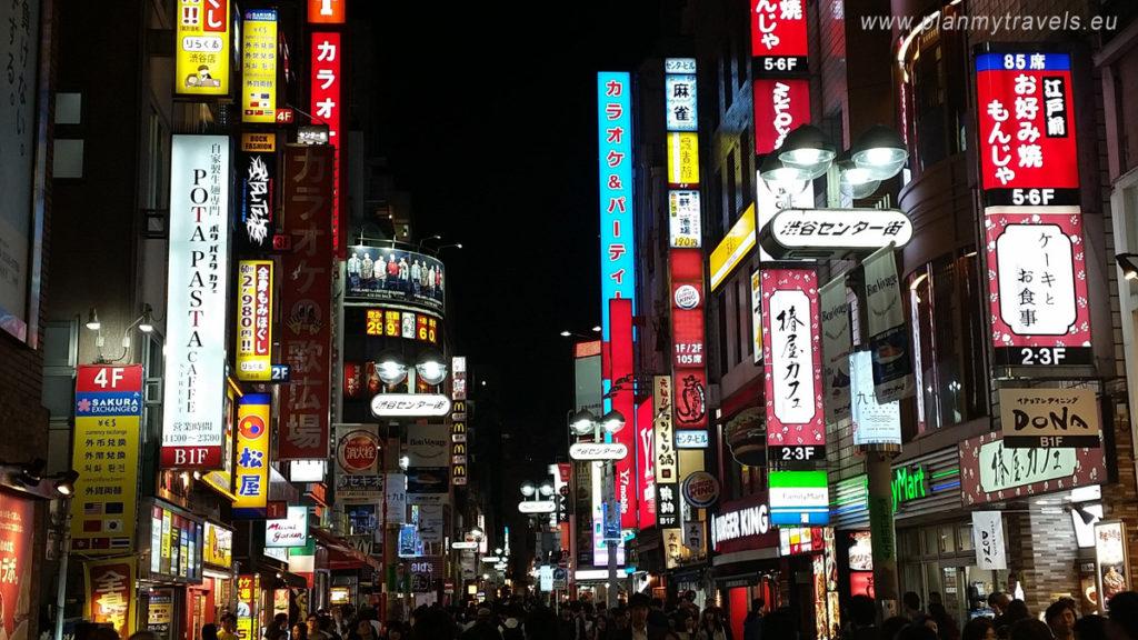 Japan - tailor-made Travel plan, trip tp Japan, PlanMyTravels.eu,Tokyo Shibuya