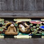 Japan, Nikko, Sansaru, three wise monkeys, Toshogu