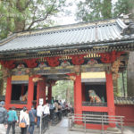 Japan, Nikko, Toshogu Shrine, Omote-mon gate