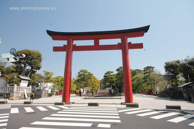 Japan, Kamakura seat of the first shogun, Tsurugaoka Hachimangu