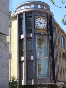 Japonia, Zamek Matsumoto, zegar Pendulum