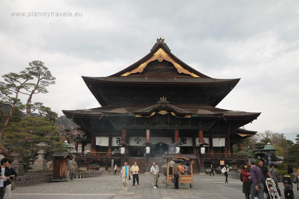 Japan, Nagano, Zenkoji Temple