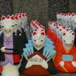 Japonia, laleczki Kuchiire Inari Okami