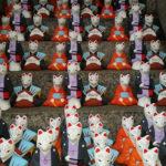 Japan, Fushimi Inari, Kuchiire Inari Okami dolls