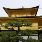 Japan. Kyoto, Kinkakuji, Golden Pavilion