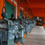 Japan, Nara, The Kasuga Taisha Temple, lanterns