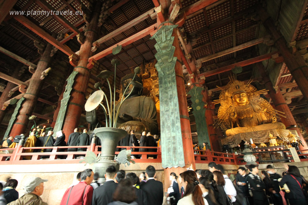 Japan, Nara, Todaiji Temple, Great Buddha