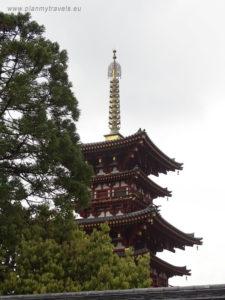 Japonia, Nara, świątynia Yakushi-ji
