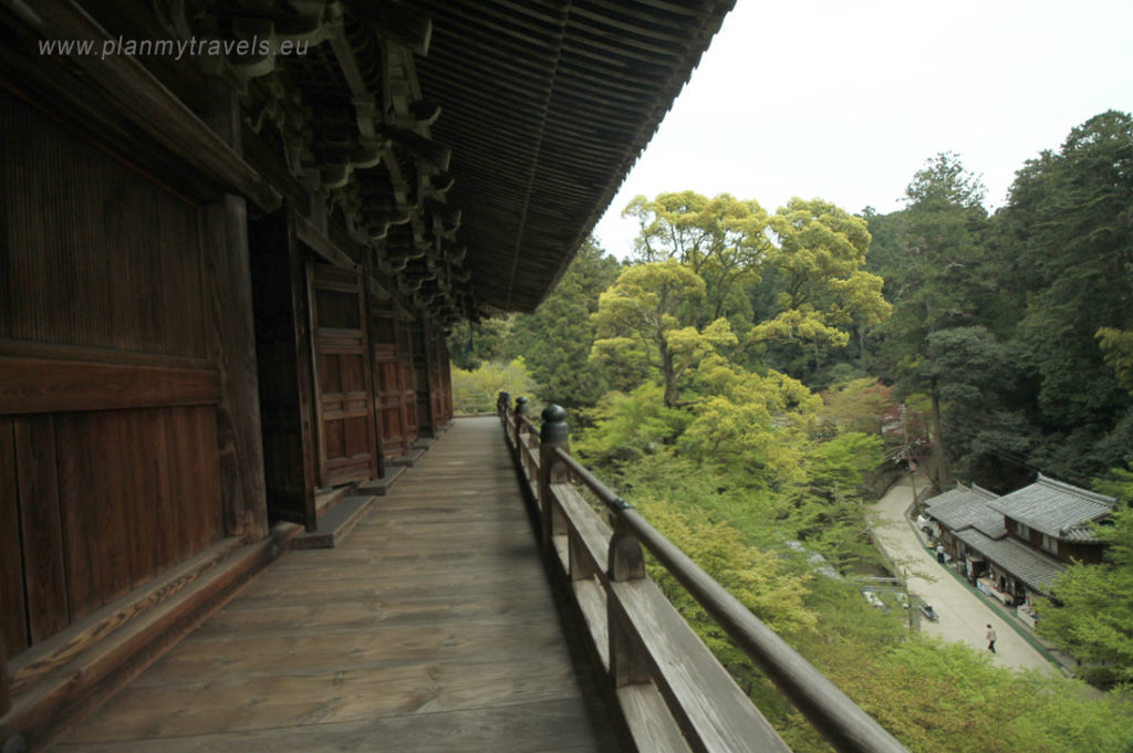 Japan, Maniden - the main building of the Engyoji temple