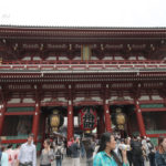 Japonia, Tokio, dzielnica Asakusa, swiątynia Sensoji
