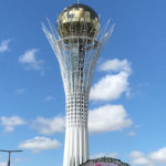 Kazakhstan - the country of the wind Astana Bayterek tower