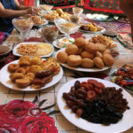Kazakhstan - the country of the wind lunch with the host family