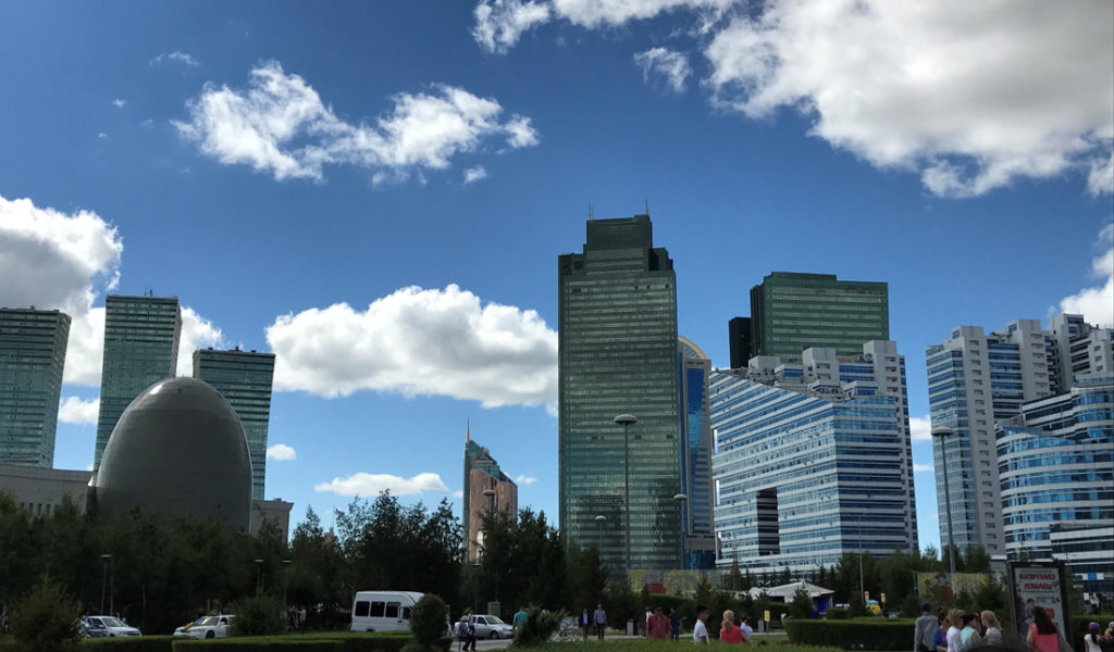 Kazakhstan - the country of the wind, Astana