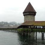 Switzerland, Lucerne covered chapel bridge