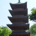 Japan, Tokyo, Ueno Park, Ueno Zoo, pagoda