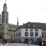 Zurich Grossmunster church