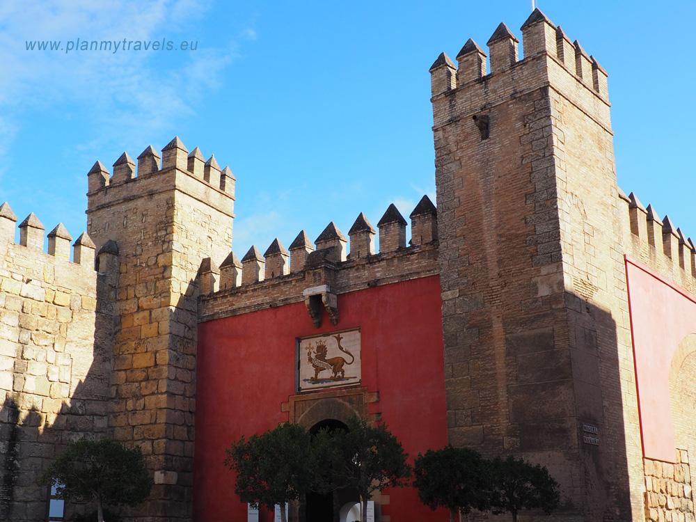 Hiszpania, Sevilla, Pałac Alcazar