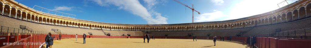 Hiszpania, Sevilla, Arena korridy – Muzeum Walk Byków