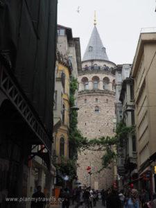 wieża Galata, Stambuł Turcja