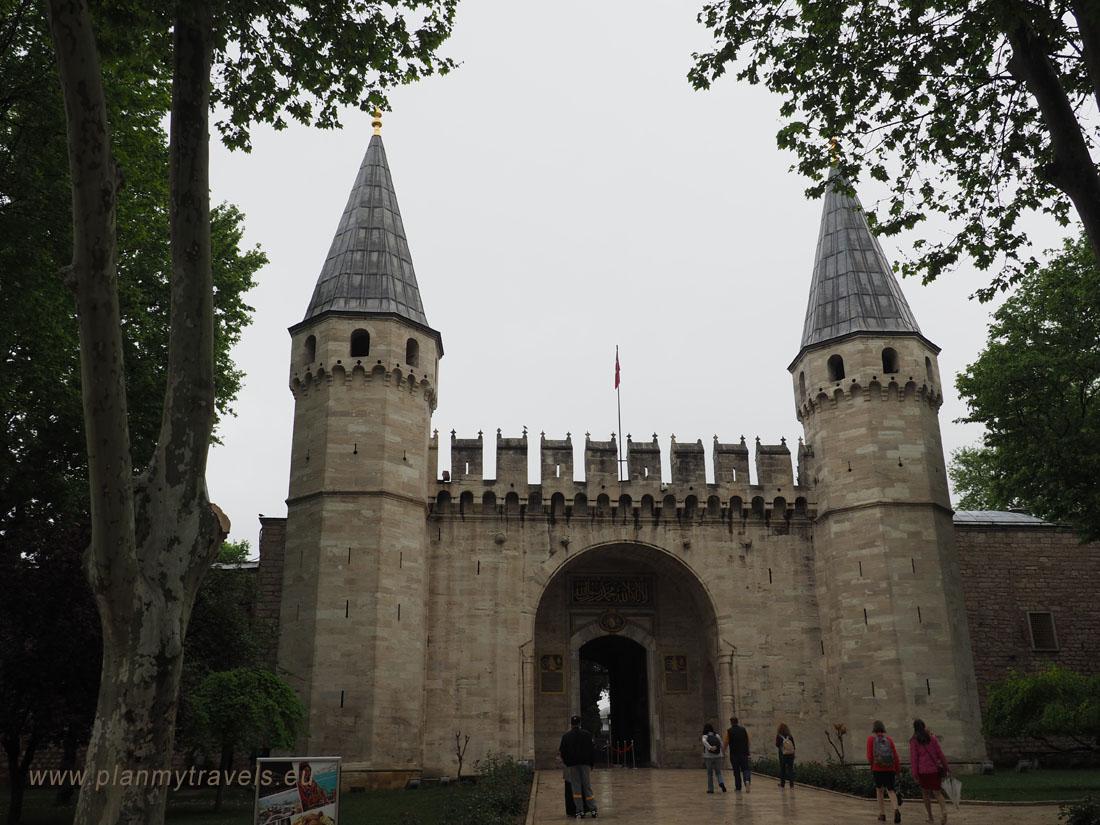 Stambuł, Pałac Topkapi, Turcja