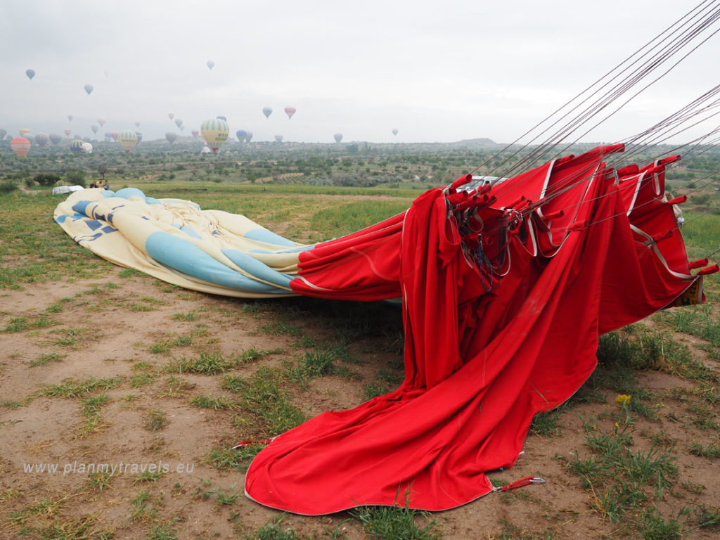 Kapadocja lot balonem, Turcja