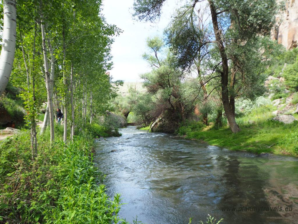 Ihlara Valley, Kapadocja, Turcja
