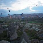 Turkey, Cappadocia, Goreme, Hot air balloon