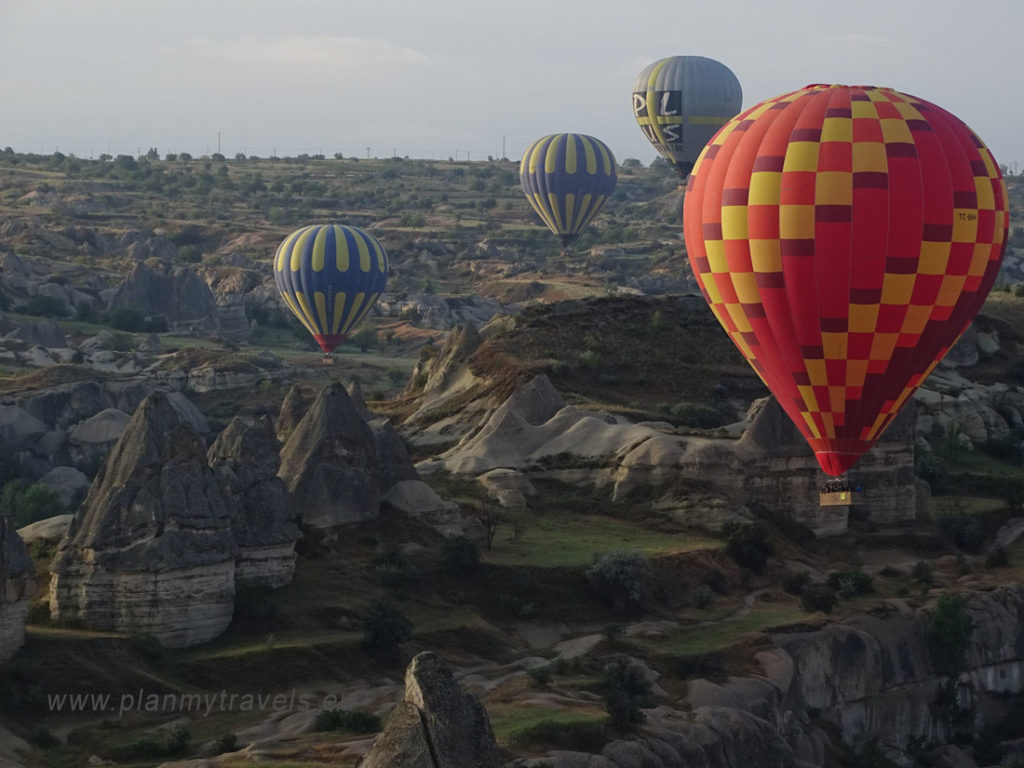 Cappadocia Goreme, Turkey, hot air balloon