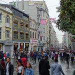 Turkey, Istanbul, Beyoglu, Istiklal Caddesi