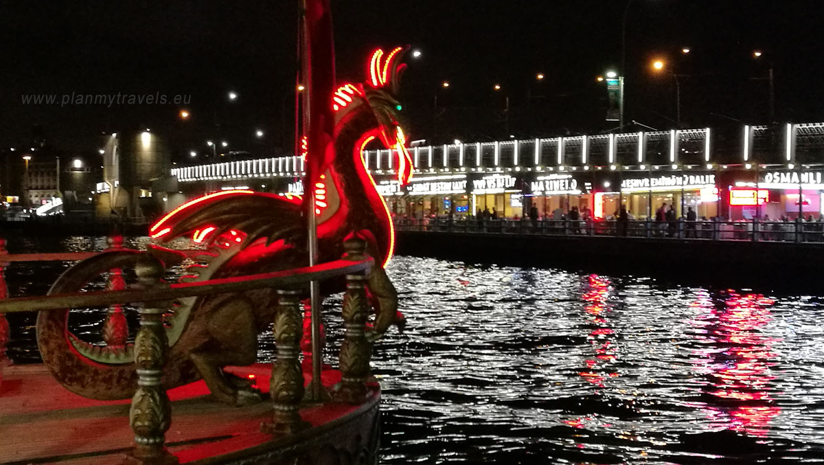 Galata - Golden Horn and Galata Bridge