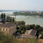 Hungary, Esztergom Basilica, Danube river