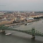 Hungary, Budapest, Gellért Hill